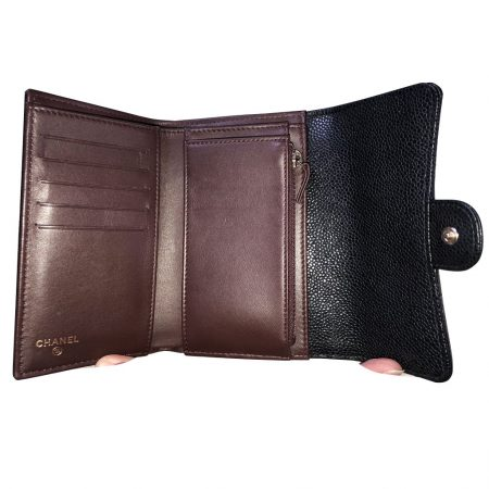 Authentic Chanel Maroquinerie wallet