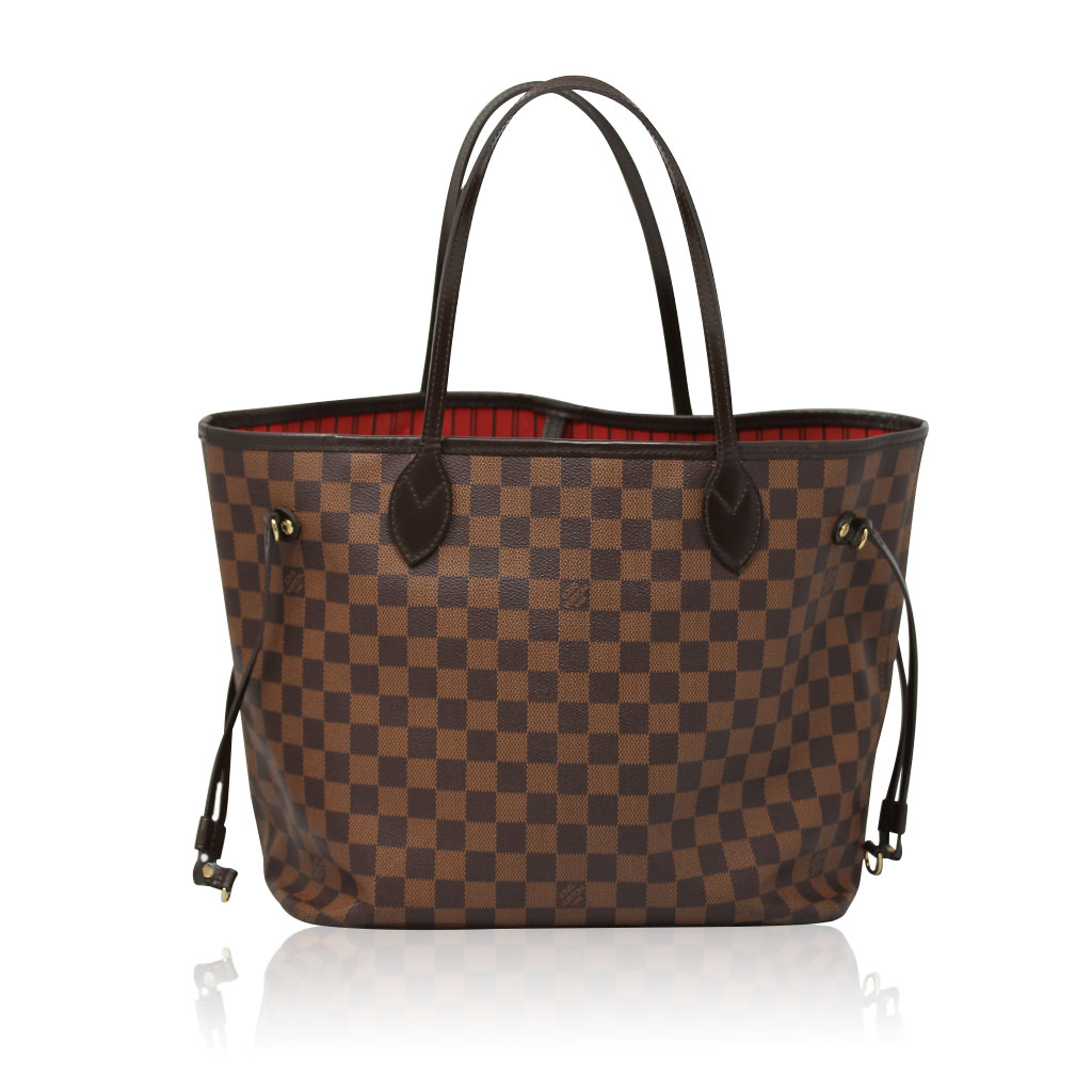 ad2b9295ceaff Louis Vuitton Neverfull MM Damier Ebene Tote Sell Your Handbag