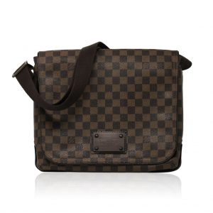 Louis Vuitton Damier Ebene Canvas MM Messenger Bag