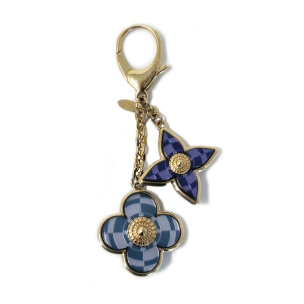 authentic mosaique blue key chain