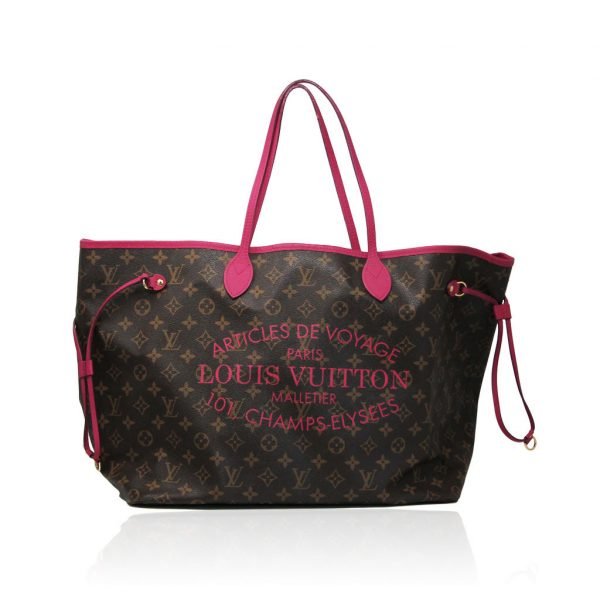 authentic Louis Vuitton Neverfull GM limited edition