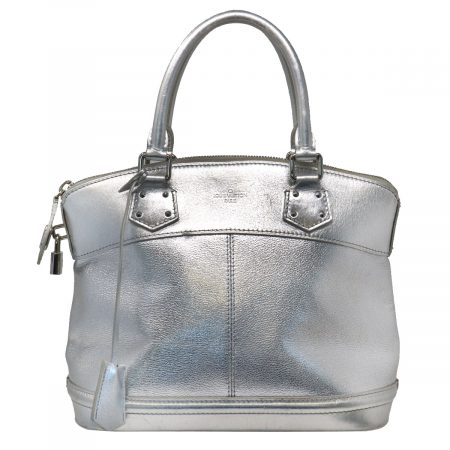 Louis Vuitton Silver Suhali Lockit PM Handbag
