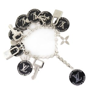 Louis Vuitton Trunks & Bags Multi Charm Bracelet