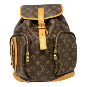 Louis Vuitton Bosphore Monogram Leather Canvas Backpack
