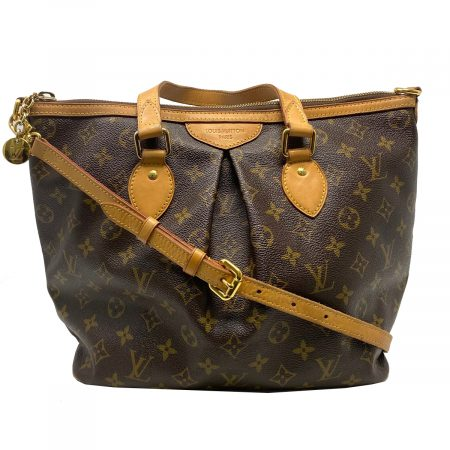 Louis Vuitton Palermo PM Monogram Canvas Crossbody Bag