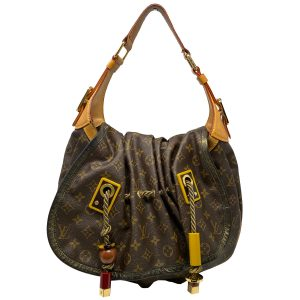 Louis Vuitton Monogram Madonna Kalahari GM Leather Shoulder Bag