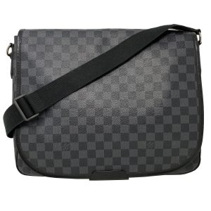Louis Vuitton Damier Graphite District GM Messenger Bag