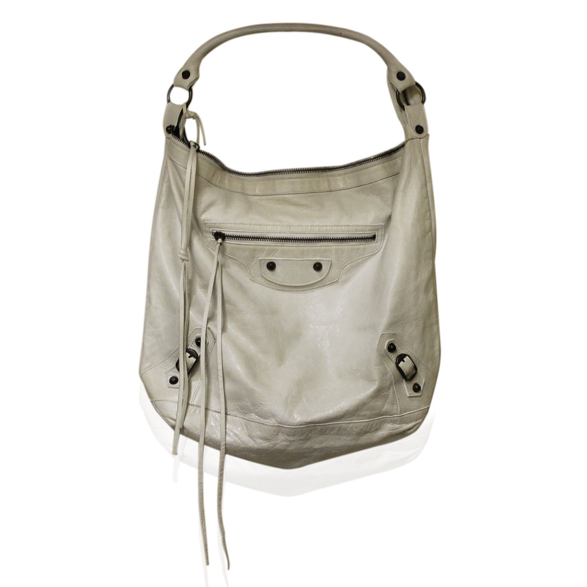 Balenciaga Chevre White Day Hobo Bag 2005