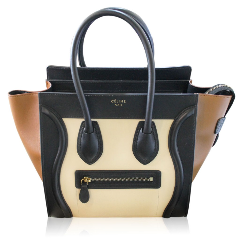 Celine Micro Luggage Tote Handbag Purse