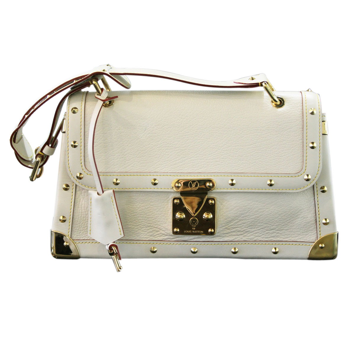 Louis Vuitton Suhali Talentueux Ivory and Gold