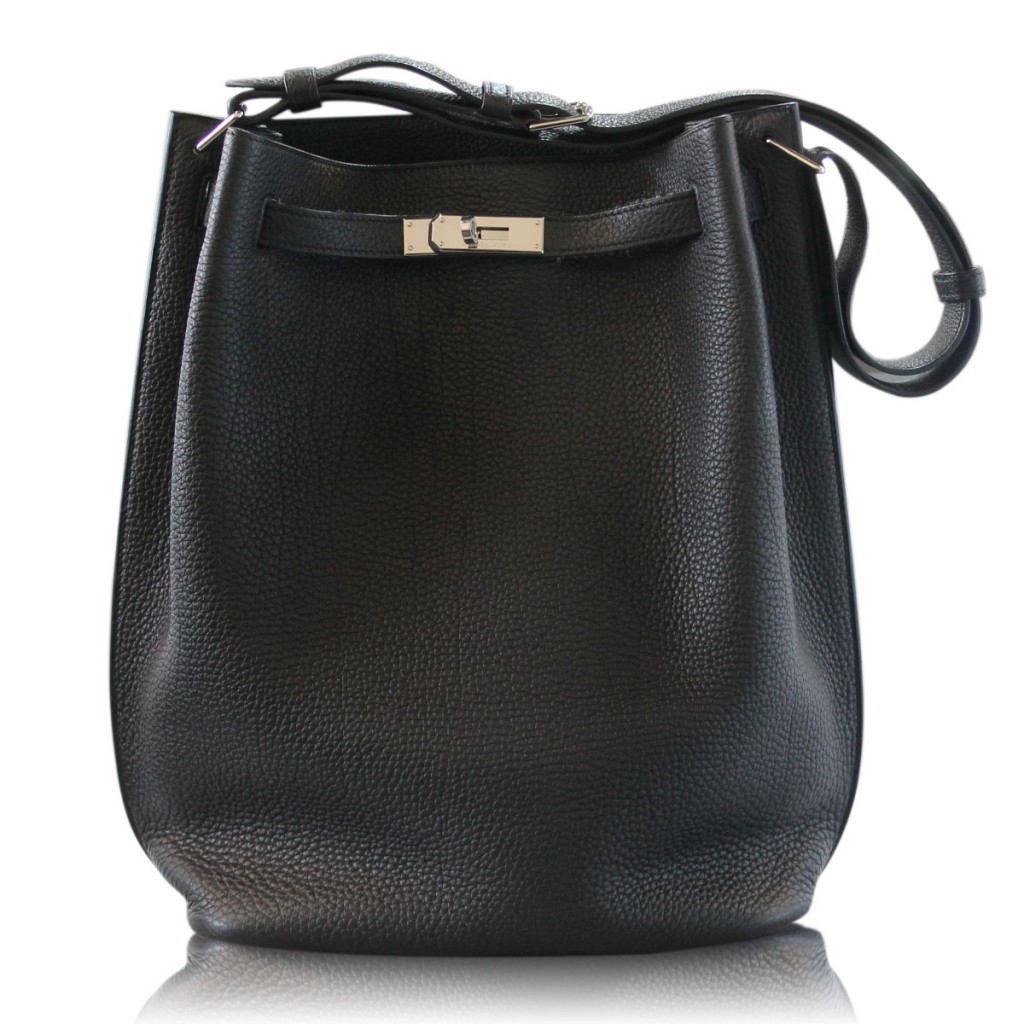 Hermes So Kelly Black Leather Handbag Purse Boca Raton, FL