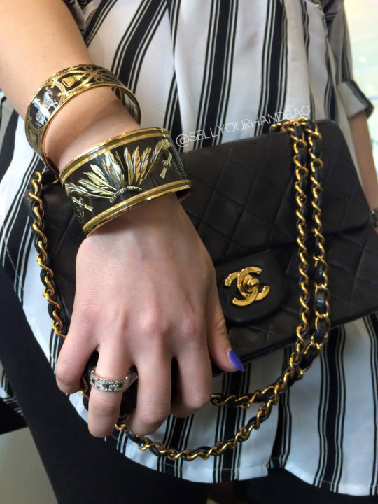 Hermes Bangles and Chanel Flap Bag Boca Raton, Florida