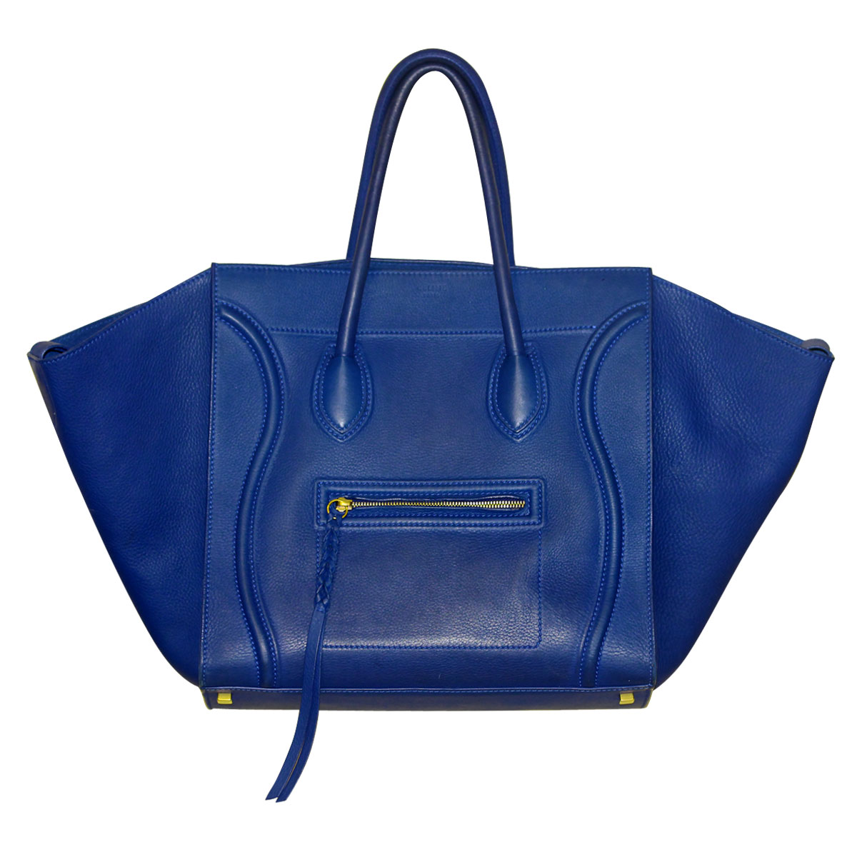 Blue Celine Phantom Tote