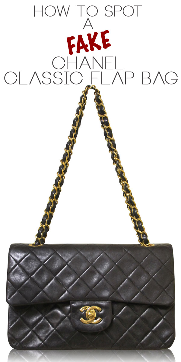 How To Spot A Fake Chanel Classic Flap Bag, Chanel flap bags Boca Raton