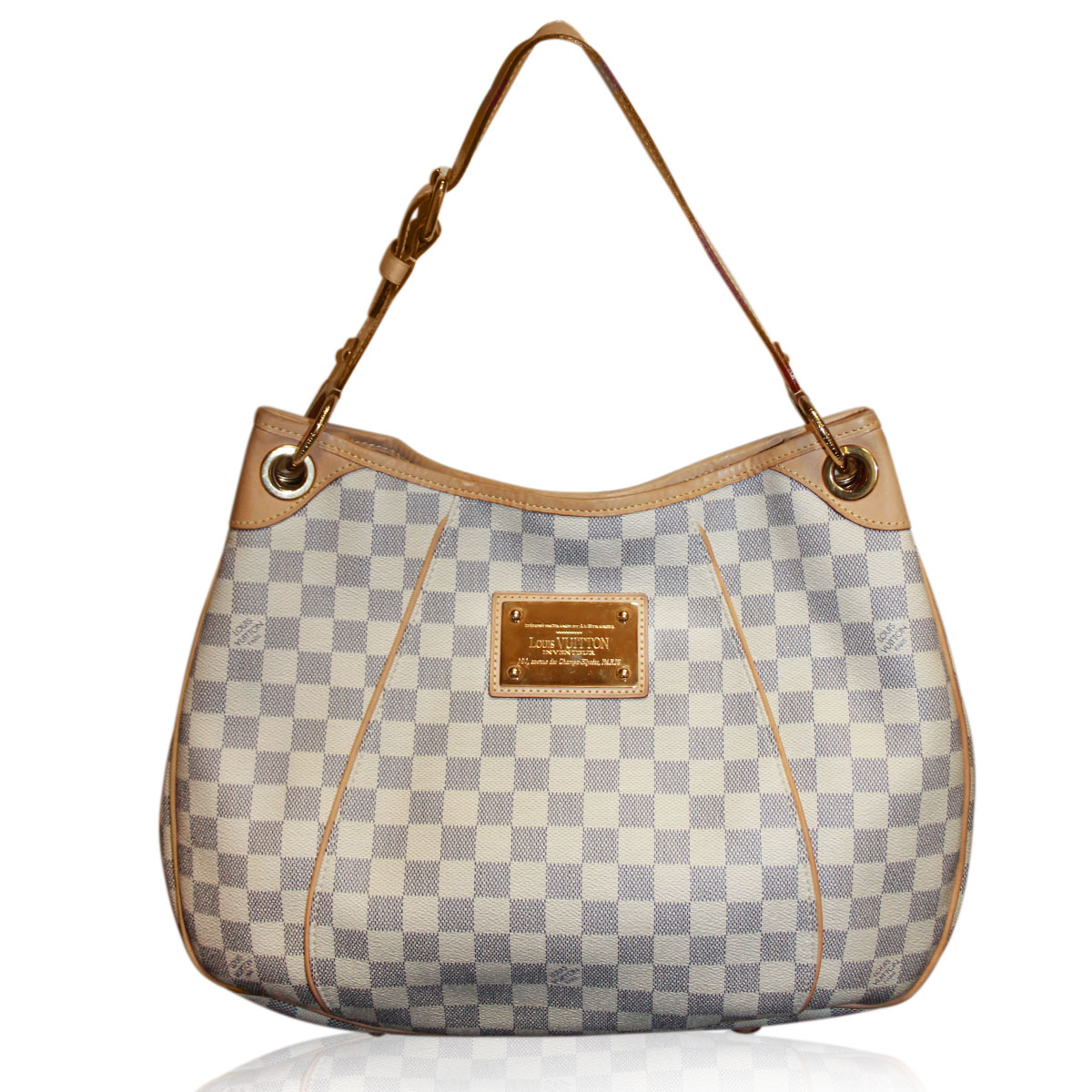 Louis Vuitton Damier Azur Galliera PM Shoulder Bag, Boca Raton