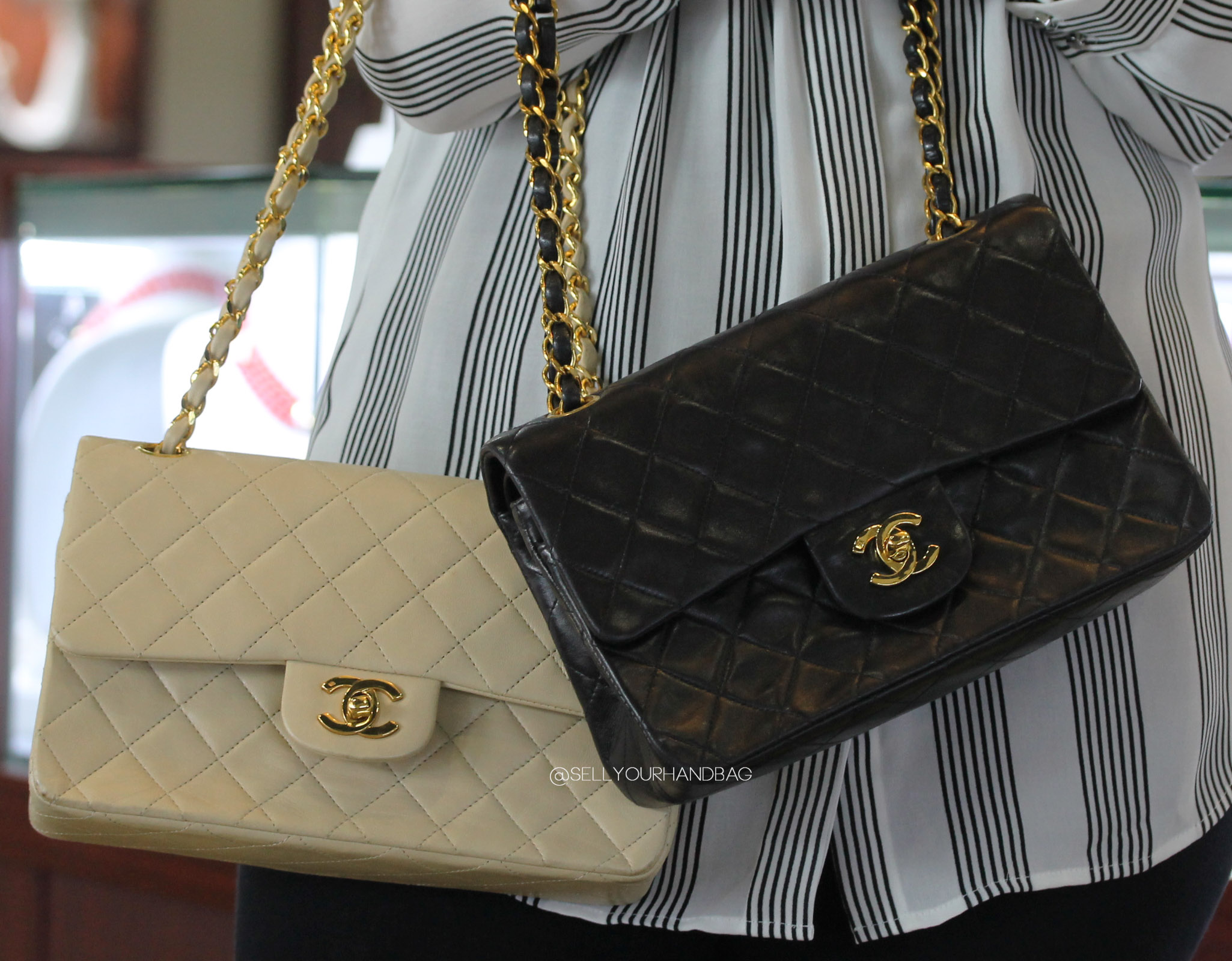 How To Spot A Fake Chanel Flap Bag