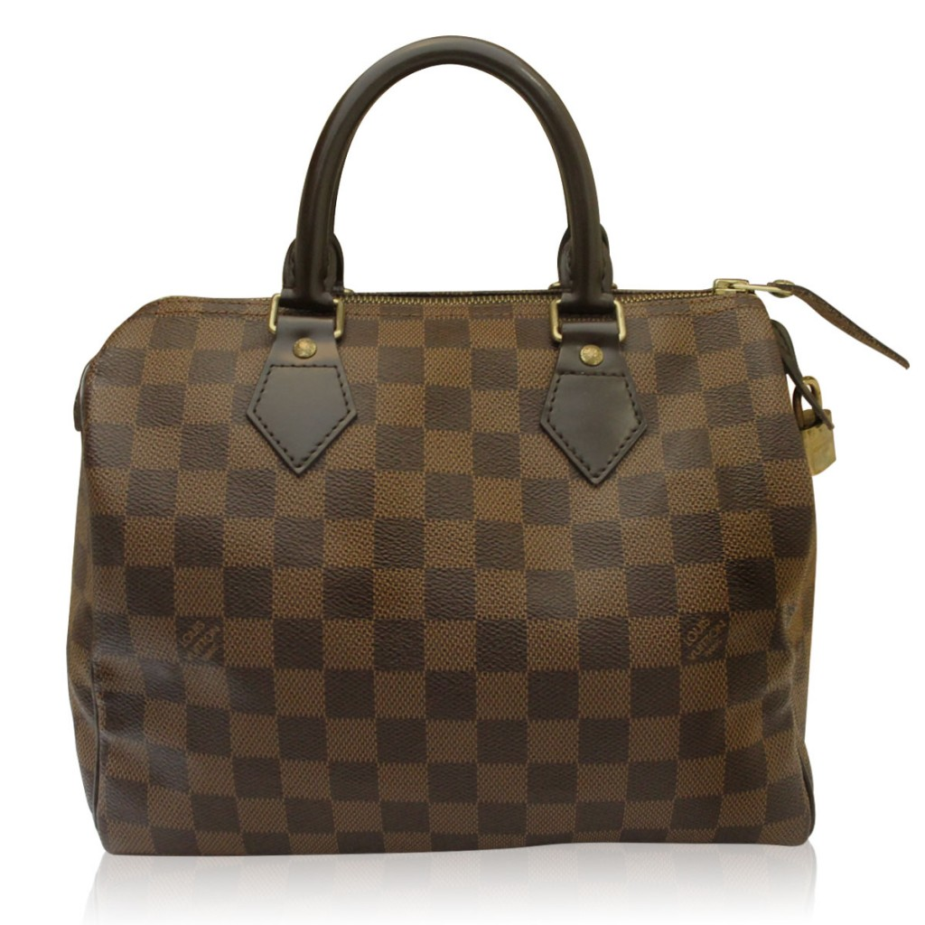 Totally Chic Louis Vuitton Damier Ebene Speedy 25 Boca Raton