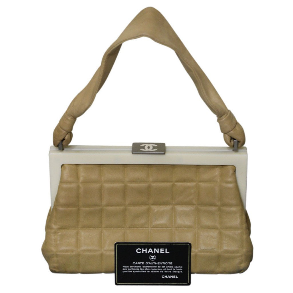Chanel Resin and Lambskin Handbags