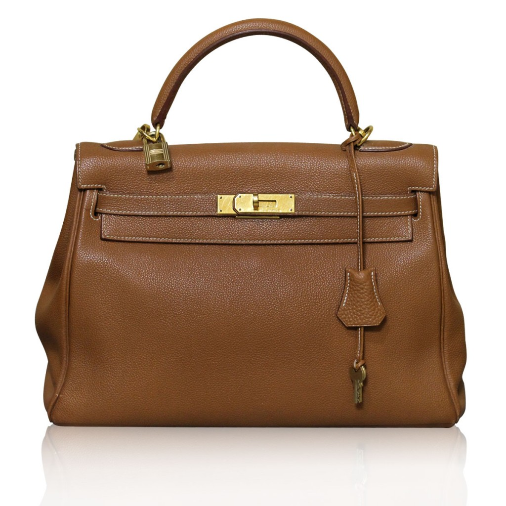 Hermes Kelly 32cm Brown Boca Raton