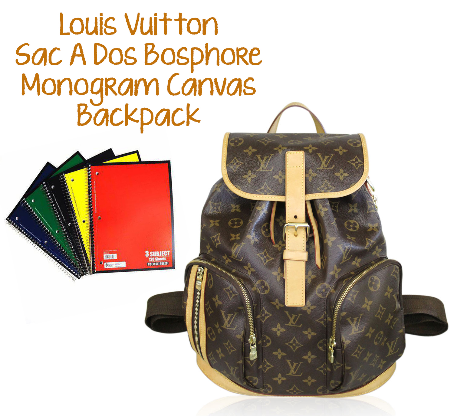 Louis Vuitton Canvas Bosphore Backpack