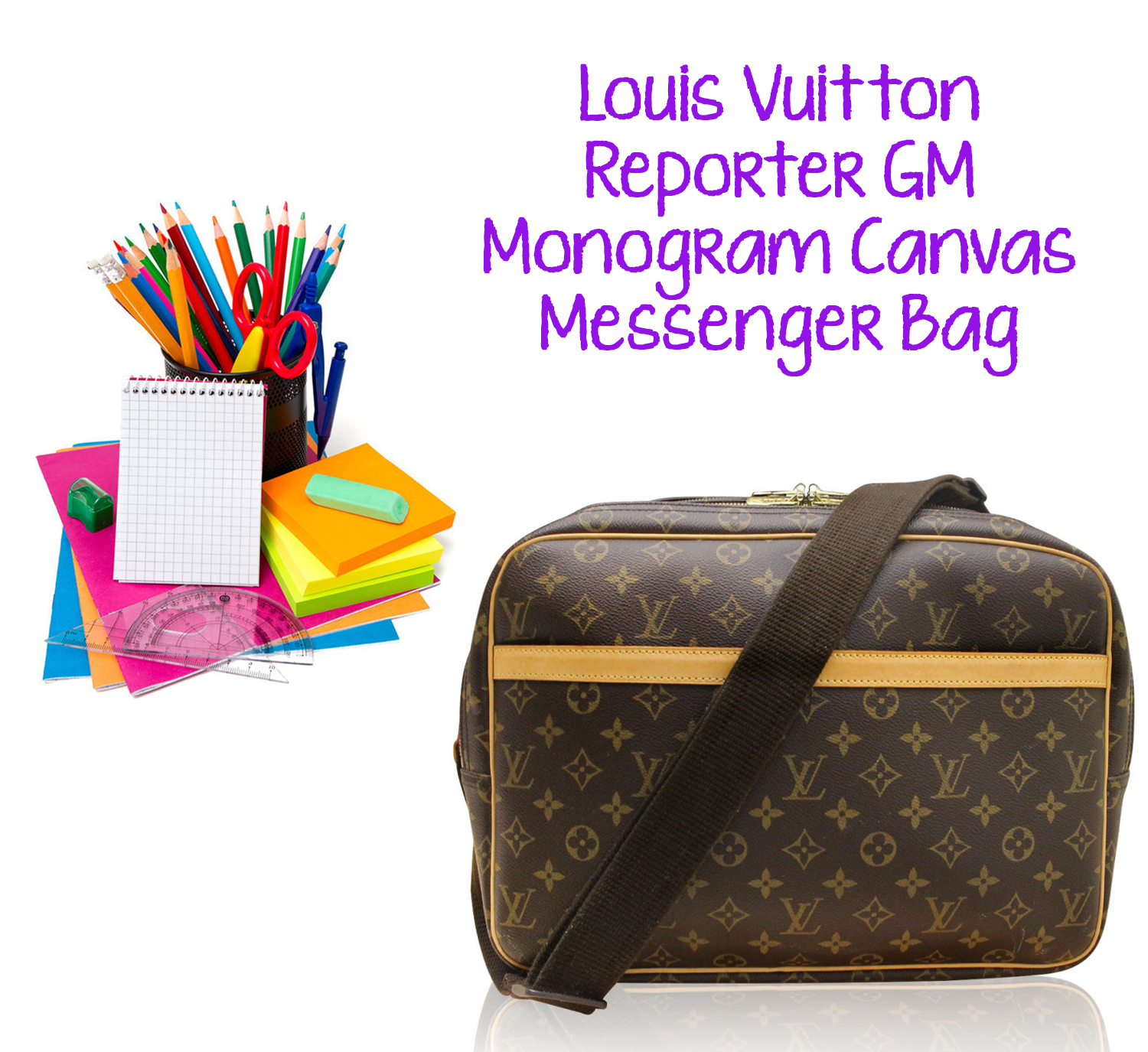Louis Vuitton Reporter GM Boca Raton