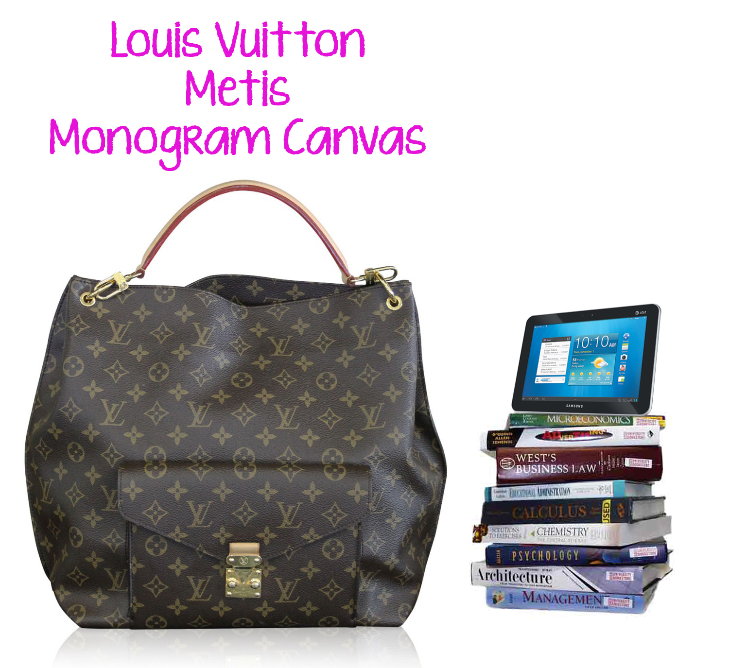 Louis Vuitton Metis Tote Bag