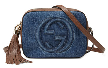 Gucci Denim Soho Cross Body bag