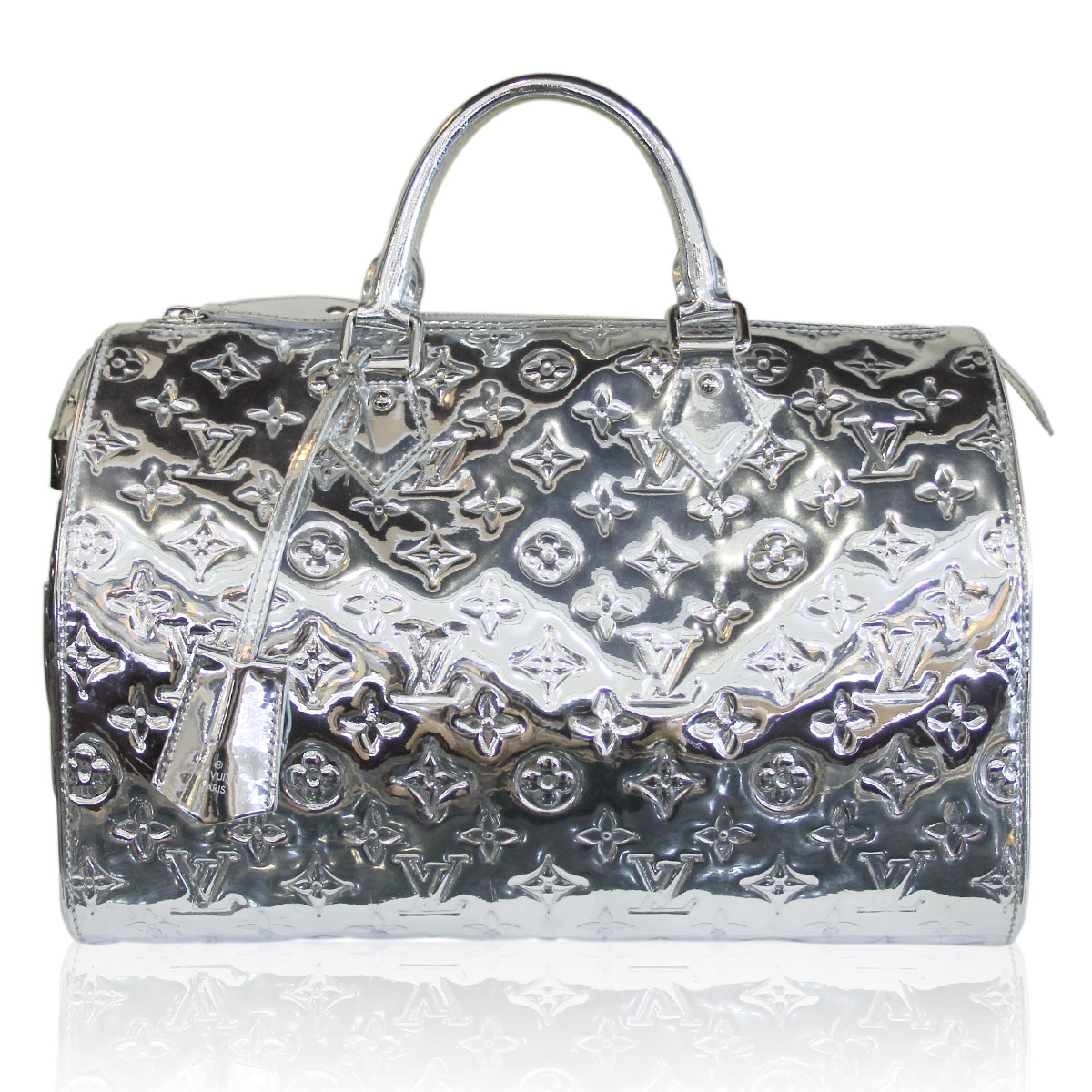 Louis Vuitton Speedy 30 Silver Monogram Black Friday Sale
