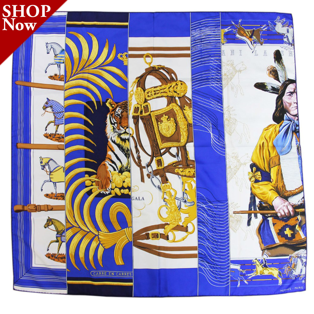 Hermes Carre e Carres Patchwork Scarf Boca Raton
