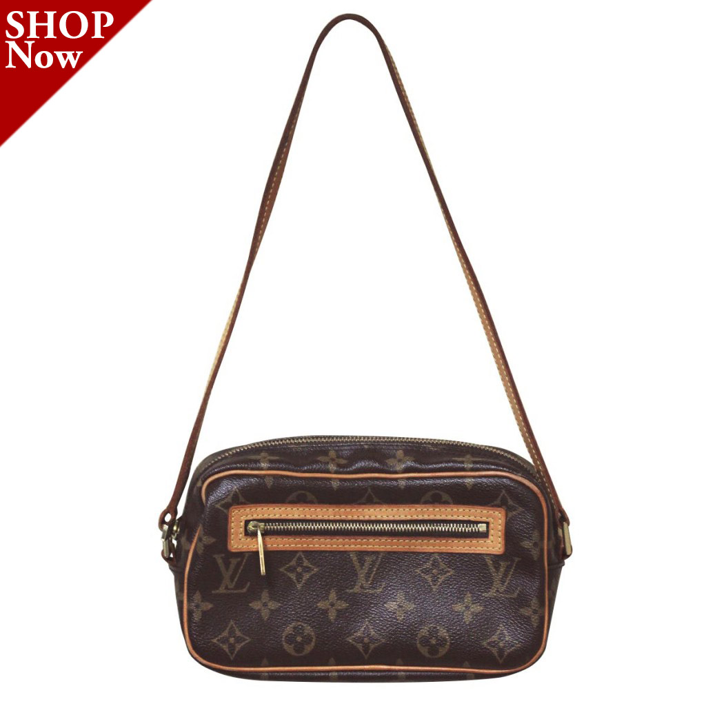 Louis Vuitton Monogram Canvas Pochette Shoulder Bag Boca Raton