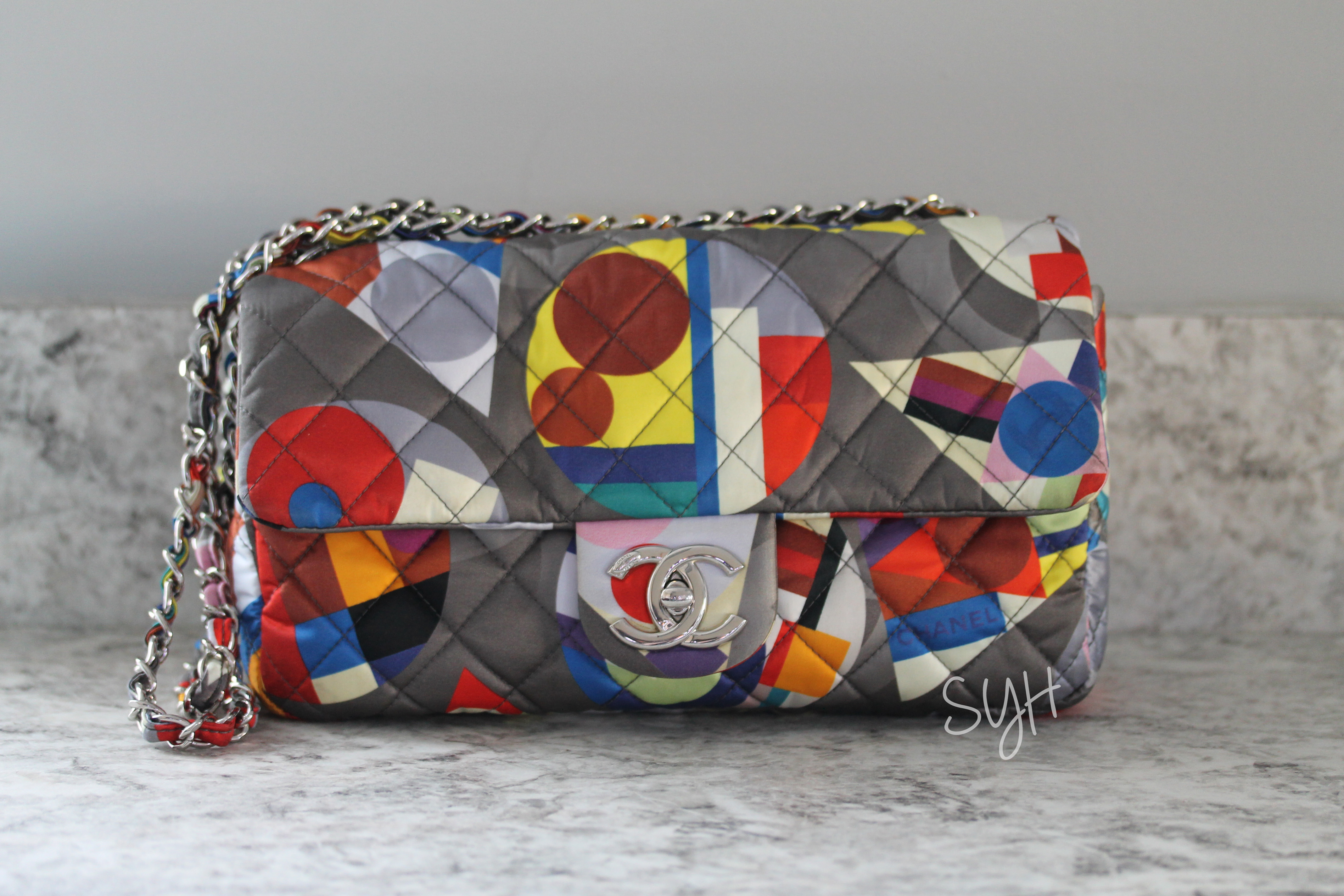 Chanel Multicolor Flap Bag