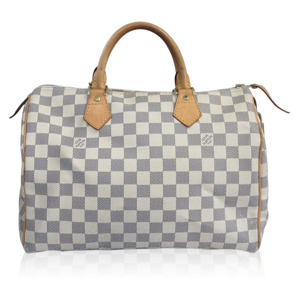Louis Vuitton Damier Azur Speedy 30 Pre-owned