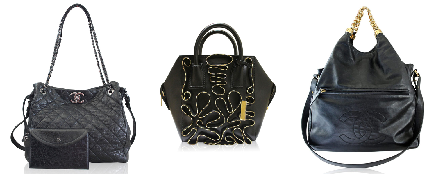Black Fall Handbags
